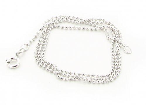 Collana d'Argento Diamantata