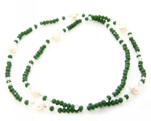 Collana e Bracciale con Swarovski e Perle
