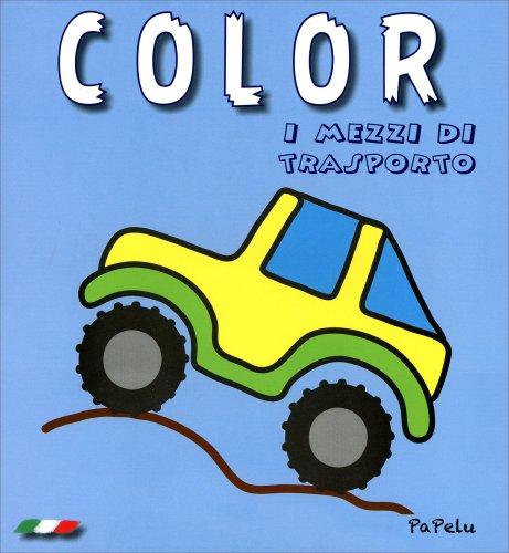 Color i Mezzi di Trasporto - Azzurro