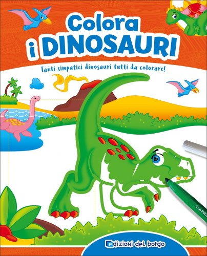 Colora i Dinosauri