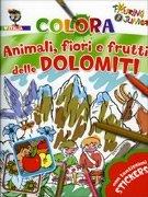 Colora Animali, Fiori e Frutti delle Dolomiti