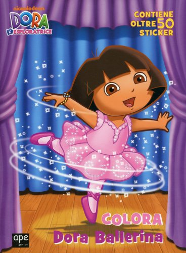 Dora l'Esploratrice - Colora Dora Ballerina