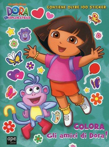 Dora l'Esploratrice - Colora gli Amici di Dora!