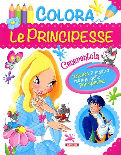 Colora le Principesse - Cenerentola