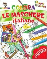 Colora le Maschere Italiane