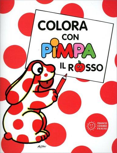 Colora Con Pimpa - Il Rosso