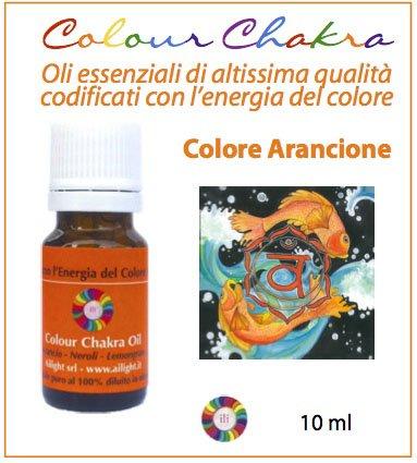Colour Chakra Oil - Arancione