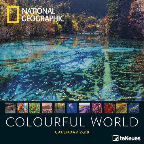 Calendario 2019 - Colourful World