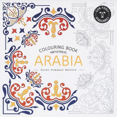 Colouring Book Antistress - Arabia
