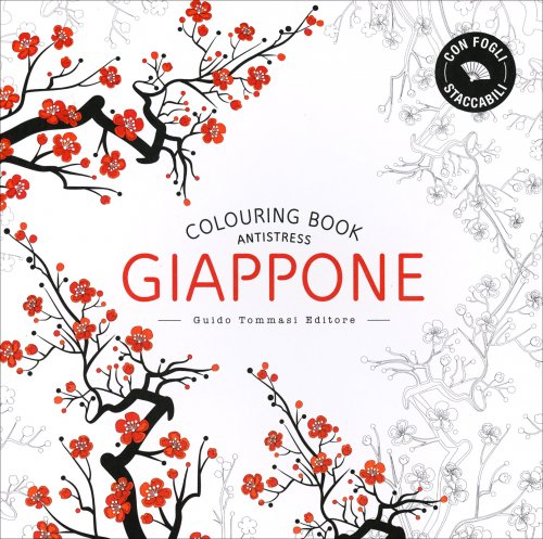 Colouring Book Antistress - Giappone