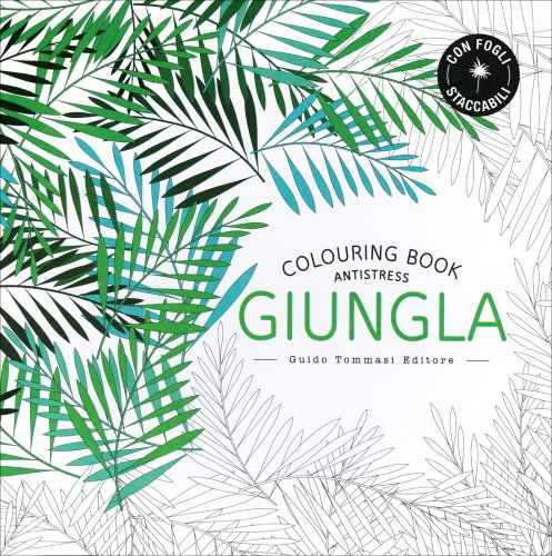 Colouring Book Antistress - Giungla