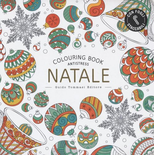Colouring Book Antistress - Natale