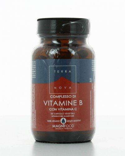 Integratore Naturale - Complesso di Vitamine B con Vitamina C