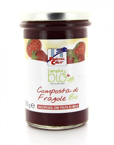 Composta Naturale di Fragole Bio