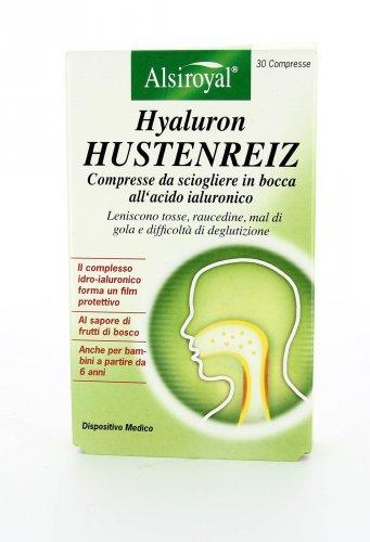 Hyaluron Hustenreiz - 30 Compresse