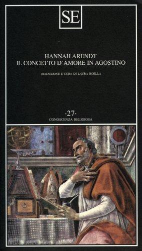 Il Concetto d'Amore in Agostino