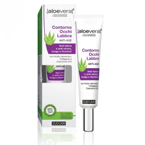 Contorno Occhi e Labbra Anti-Age - Aloevera2