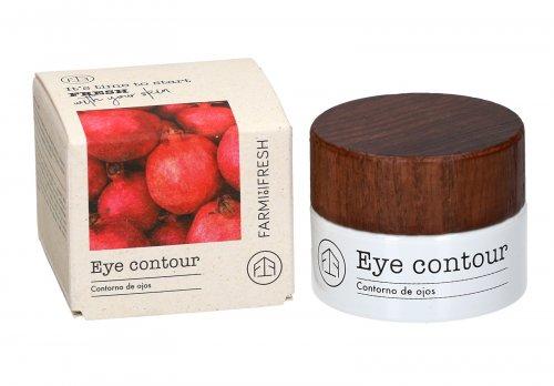 Contorno Occhi con Revital-Eyes Active, Caffeina, Melograno e Tè Verde