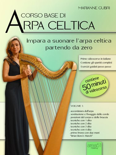 Corso Base di Arpa Celtica - Volume 1 (eBook)