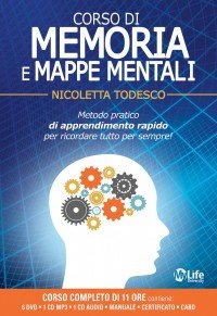 Corso di Memoria e Mappe Mentali - Con 6 DVD, 1 CD Mp3 e 1 CD Audio