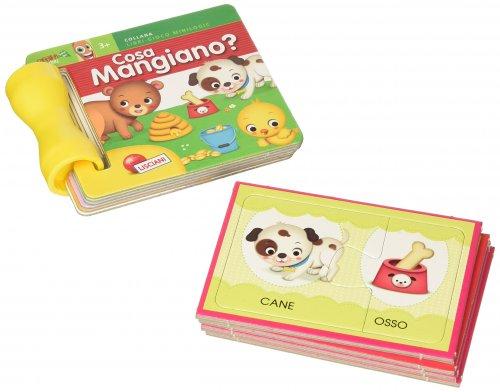 Cosa Mangiano? - Minilogic Librogioco