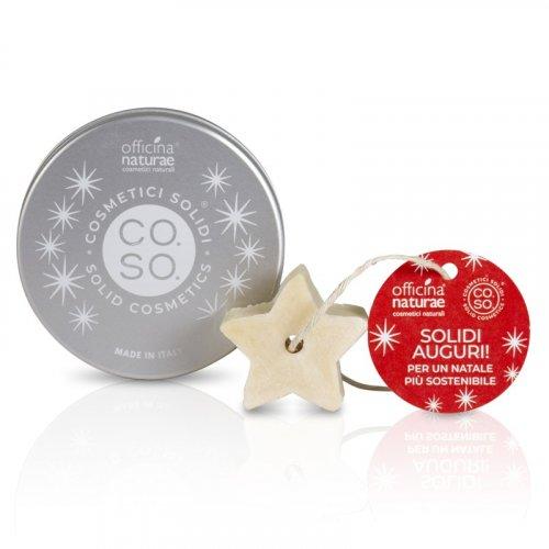 CO.SO. di Natale - Barattolo con Bagnoschiuma Solido a Forma di Stella