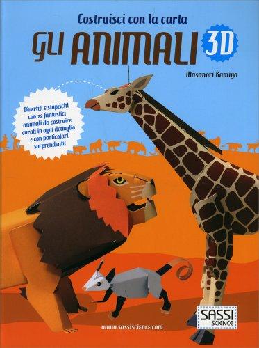 Costruisci con la Carta gli Animali 3D