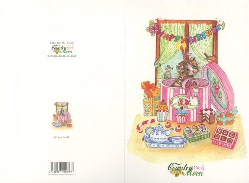 Countrycard - Moon Compleanno Gatto