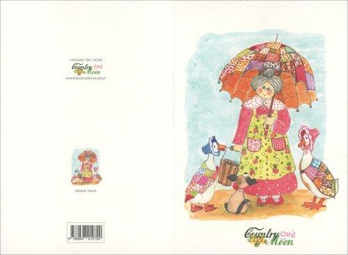 Countrycard - Moon Nonna con Ombrello