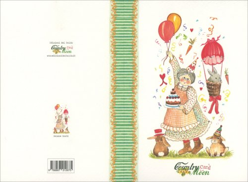 Countrycard - Moon Nonna con Palloncini