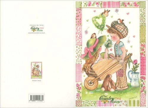 Countrymoon Card - Matrimonio Carriola