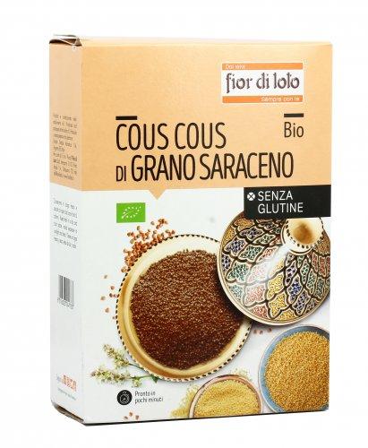 Cous Cous di Grano Saraceno Bio - Senza Glutine