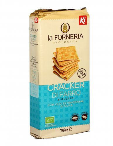 Cracker di Farro Biologici