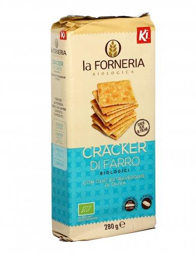 Cracker di Farro Biologici