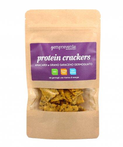 Cracker di Anacardi e Grano Saraceno Germogliato - Protein Cracker