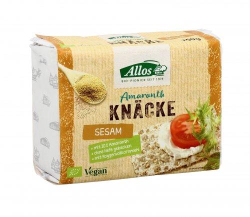 Crackers Integrali Amaranto e Sesamo