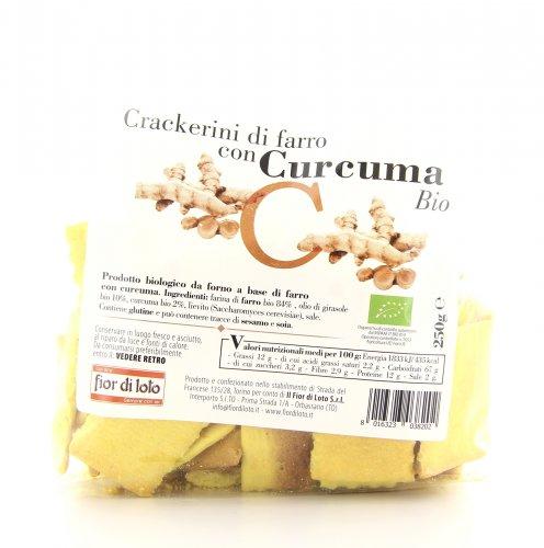Crackerini di Farro con Curcuma Bio