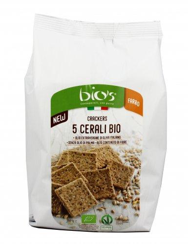 Crackers 5 Cereali Bio