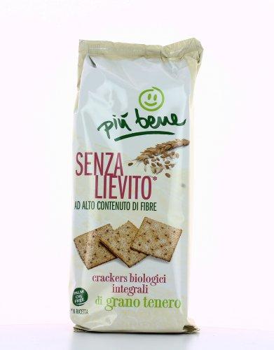 Crackers Biologici Integrali di Grano Tenero - Senza Lievito