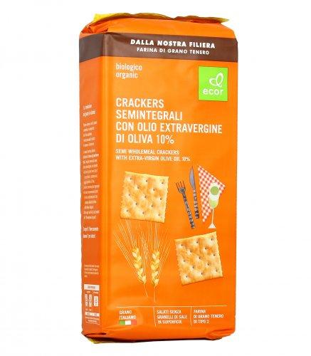 Crackers con Olio Extravergine di Oliva Bio