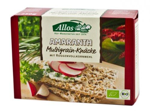 Crackers Integrali di Amaranto con Semi Misti