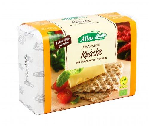 Crackers Integrali di Amaranto - Amaranth Knäcke