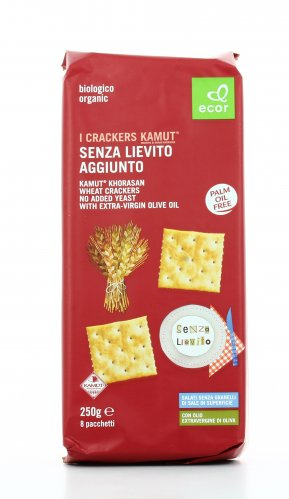 Crackers KAMUT® - grano khorasan Senza Lievito Aggiunto Bio