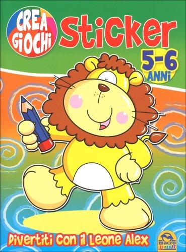 Ricrea Giochi Sticker 5-6 Anni