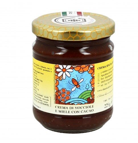 Crema di Nocciole con Miele e Cacao