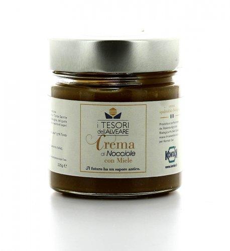Crema di Nocciole con Miele
