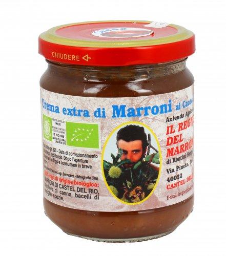 Crema Extra di Marroni al Cacao Bio