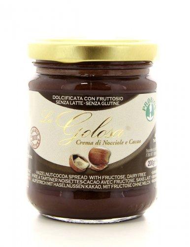 Crema Biologica di Nocciole e Cacao - La Golosa
