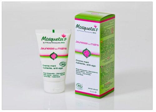 Crema Mani Anti-Age con Rosa Mosqueta