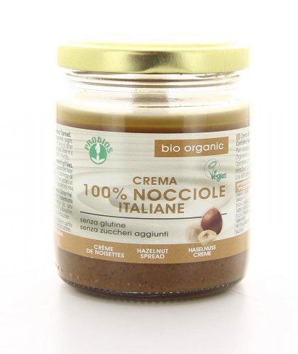 Crema 100% di Nocciole Bio
